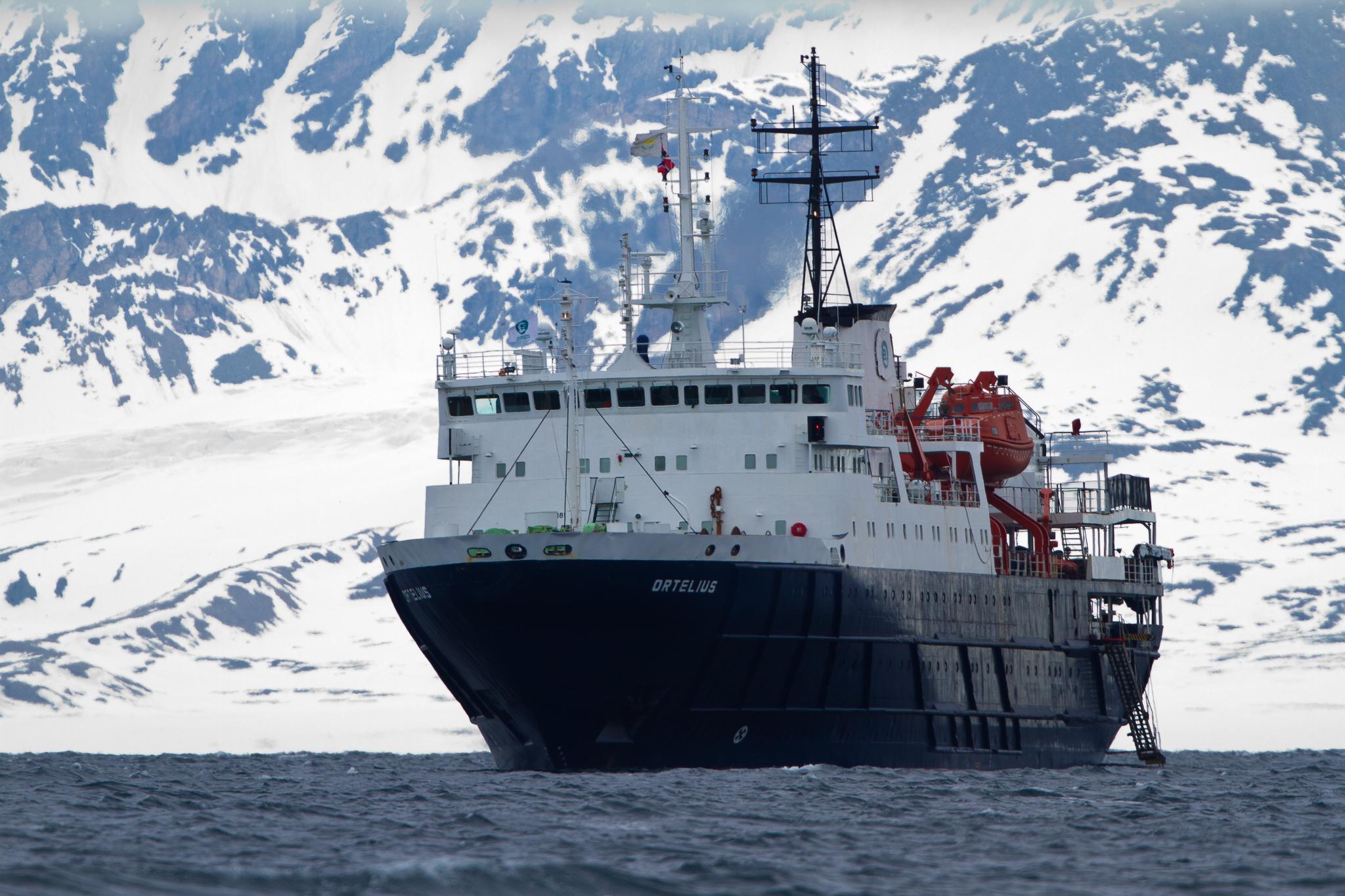 The Ortelius ~ Poolepynten, Svalbard
